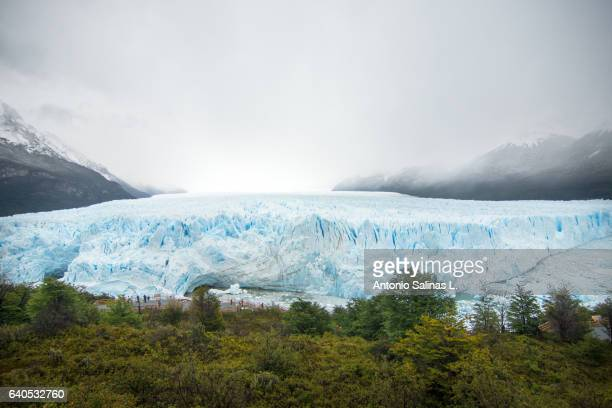 glacier perito moreno. national park argentina - glacier collapsing stock pictures, royalty-free photos & images