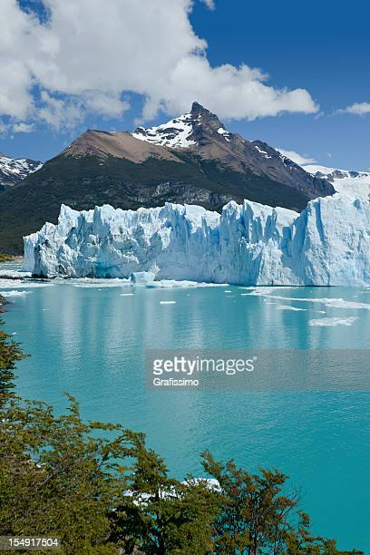 glacier perito moreno national park in argentina, patagonia - chalten stock pictures, royalty-free photos & images