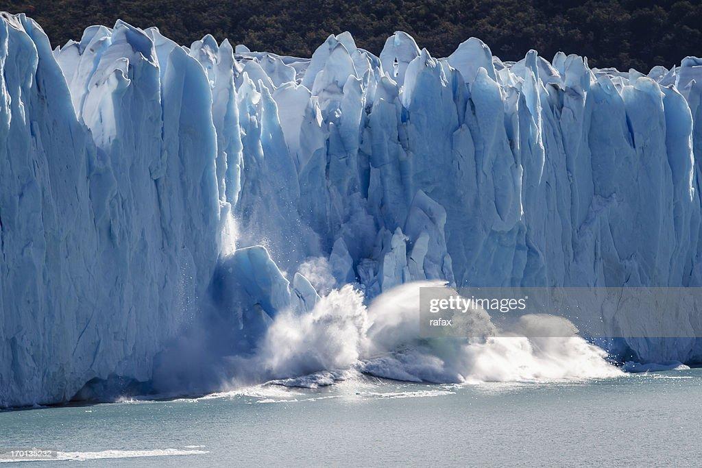 Glacier Perito Moreno, Patagonia : Stock Photo