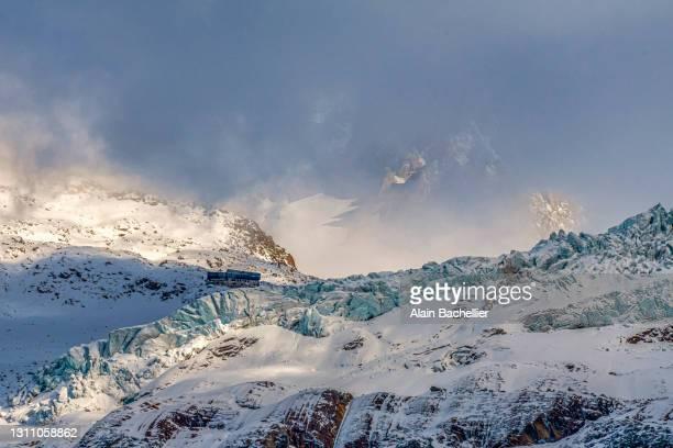 glacier - alain bachellier photos et images de collection