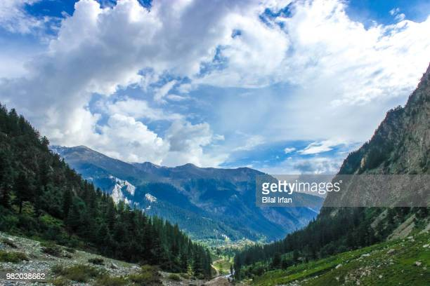 glacier plains, swat valley. - swat valley stock pictures, royalty-free photos & images