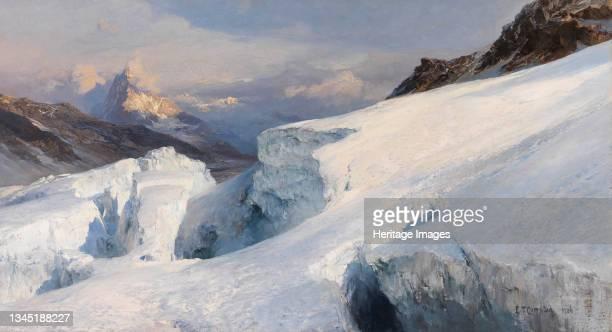 Glacier plateau, 1906. Private Collection. Artist Compton, Edward Theodore .