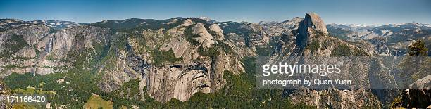 glacier point panorama - yuan quan stock pictures, royalty-free photos & images