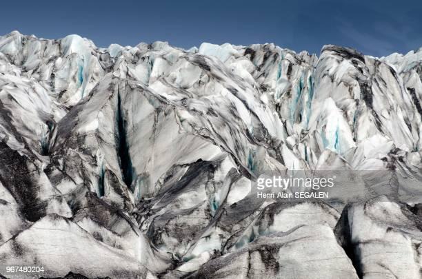 Glacier Skaftafellsjökull dans la région du Austurland en Islande