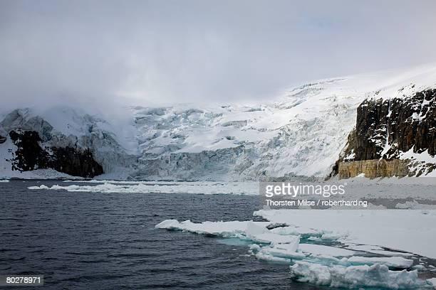 Glacier, Spitzbergen, Svalbard, Norway, Scandinavia, Europe