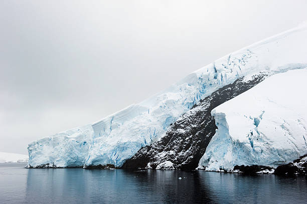 Glaciers Along The Coast Of The Souther Ocean