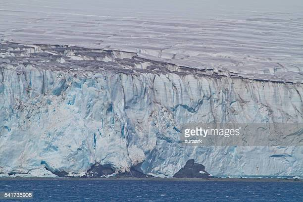glaciers while cruising the drake passage - drake passage stock photos and pictures