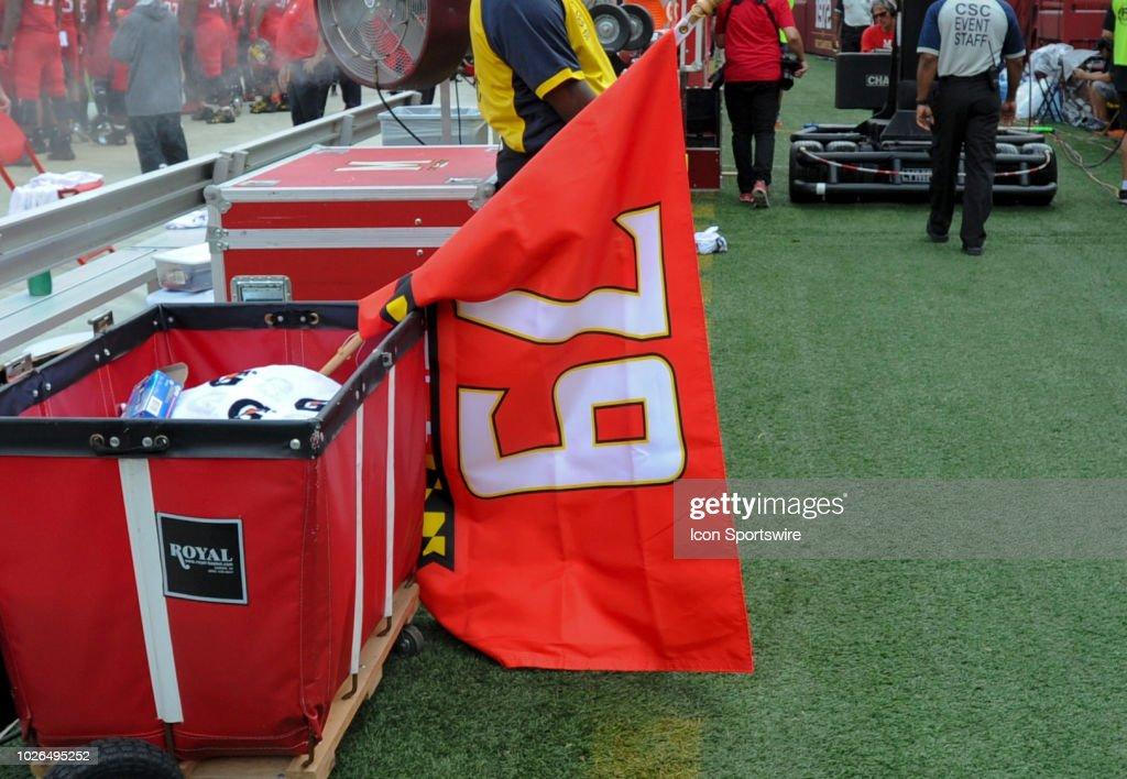 COLLEGE FOOTBALL: SEP 01 Texas v Maryland : News Photo