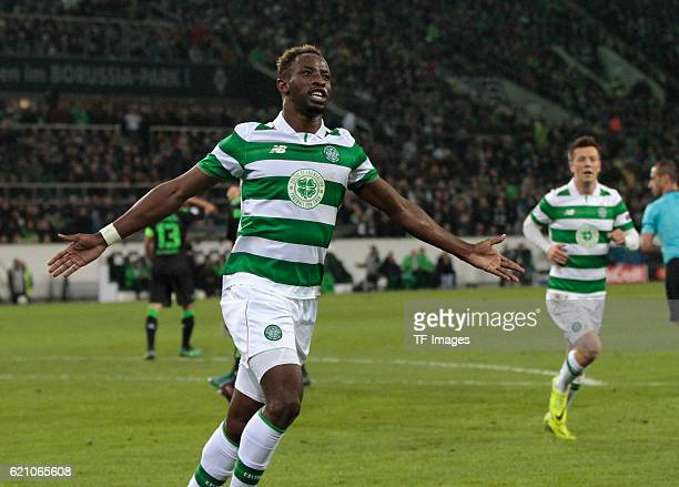 Gladbach Germany Champions League Gruppe C 4 Spieltag Borussia Moenchengladbach Celtic Glasgow Torjubel Moussa Dembele