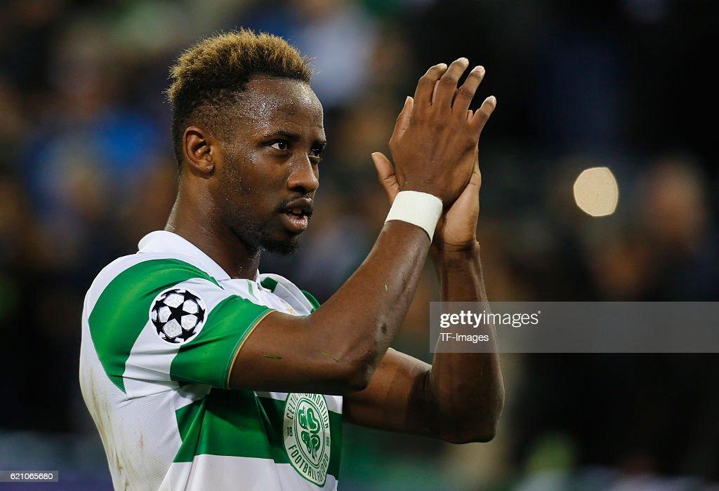 Gladbach, Germany , Champions League Gruppe C, 4. Spieltag, Borussia Moenchengladbach - Celtic Glasgow, Moussa Dembele (Celtic Glasgow) nach dem Abpfiff.