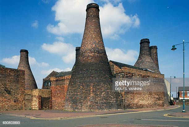 Gladstone Pottery Museum in an old ceramics factory founded in the 18th century StokeonTrent Staffordshire United Kingdom