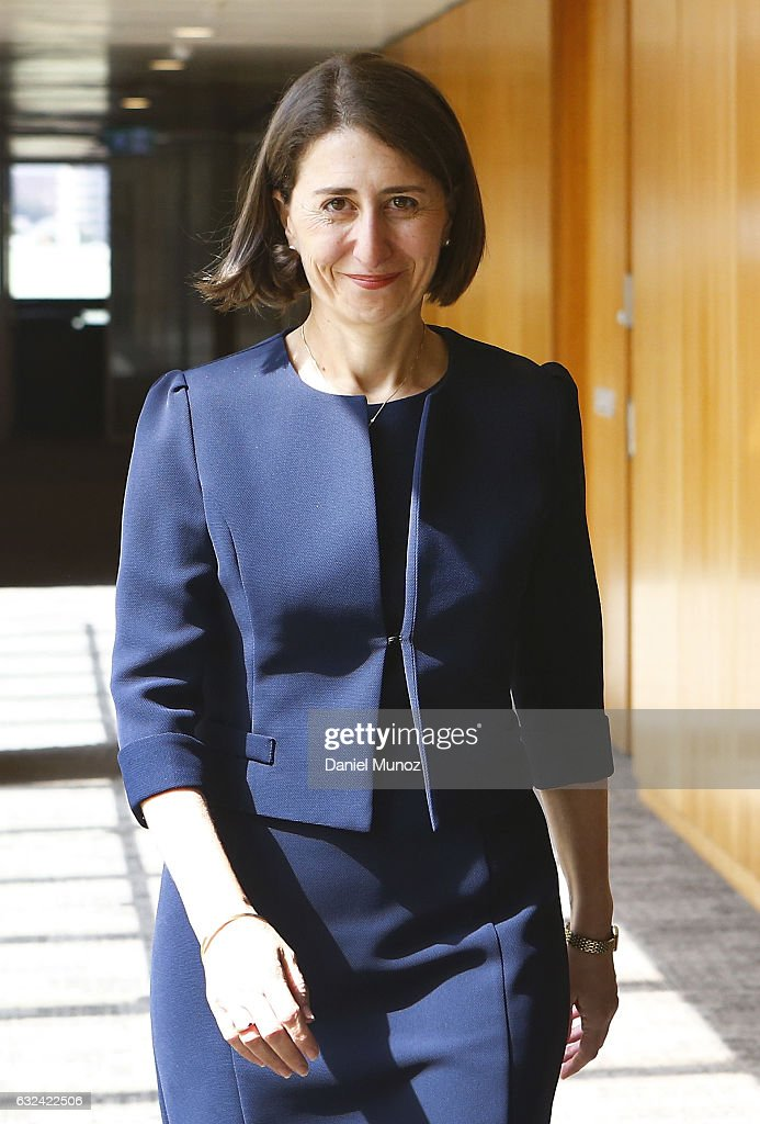 Gladys Berejiklian smiles after being elected as the Leader of Liberal Party after the resignation of Mike Baird on January 23, 2017 in Sydney, Australia. Berejiklian will be sworn in as the NSW 45th Premier on Monday afternoon.