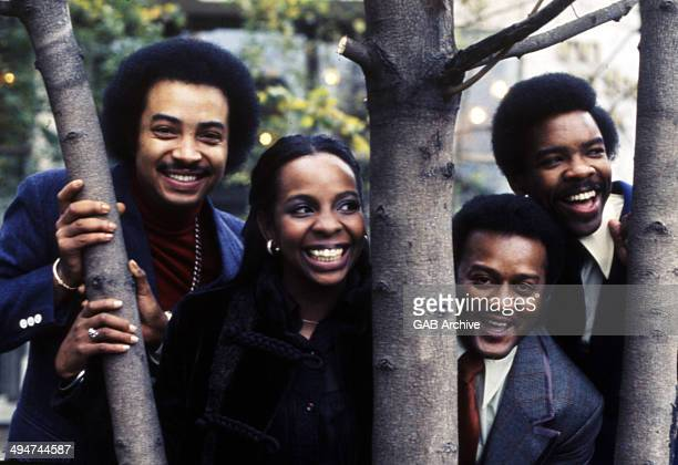 Gladys Knight And The Pips portrait United States circa 1970