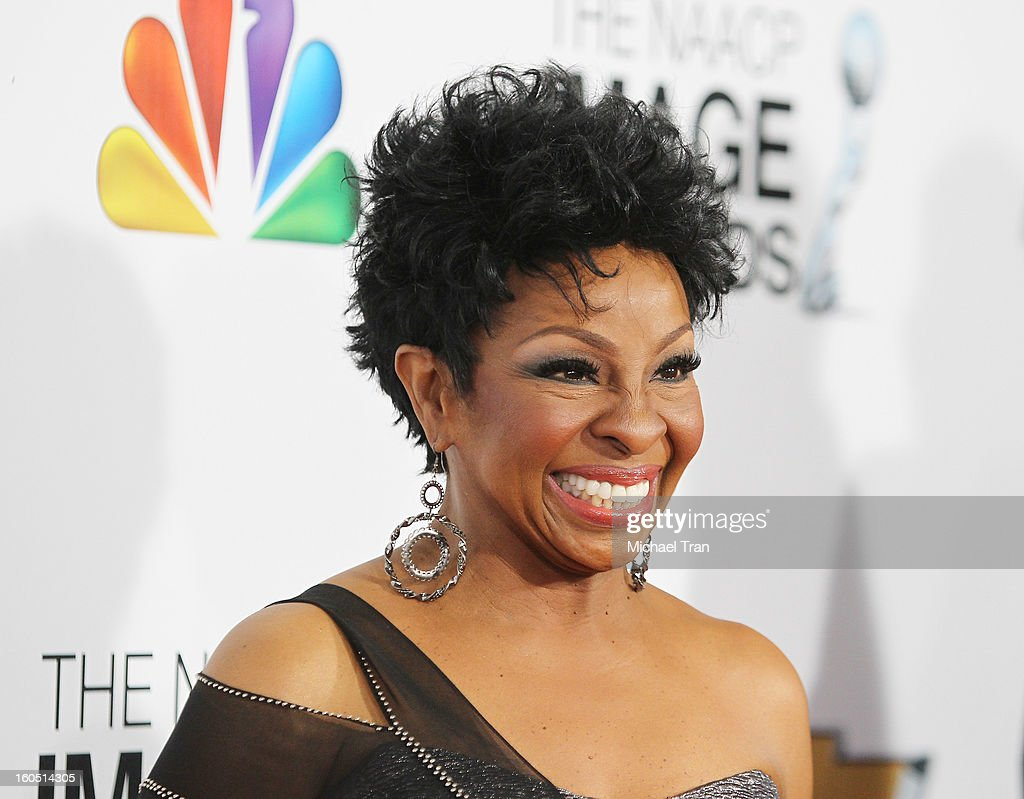 Gladys Knight arrives at the 44th NAACP Image Awards held at The Shrine Auditorium on February 1, 2013 in Los Angeles, California.