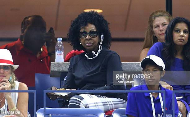 Gladys Knight attends day eight of the 2015 US Open at USTA Billie Jean King National Tennis Center on September 7, 2015 in the Flushing neighborhood...