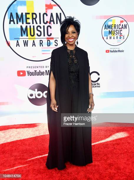 Gladys Knight attends the 2018 American Music Awards at Microsoft Theater on October 9 2018 in Los Angeles California