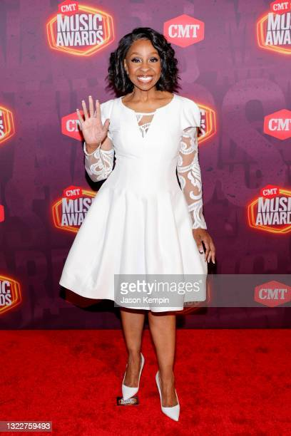 Gladys Knight attends the 2021 CMT Music Awards at Bridgestone Arena on June 09, 2021 in Nashville, Tennessee.