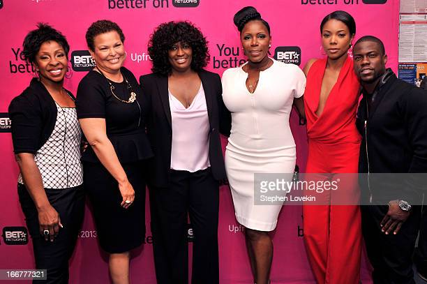 Gladys Knight Chairman/CEO of BET Networks Debra Lee President of Original Programming for BET Networks Loretha Jones Sommore Gabrielle Union and...