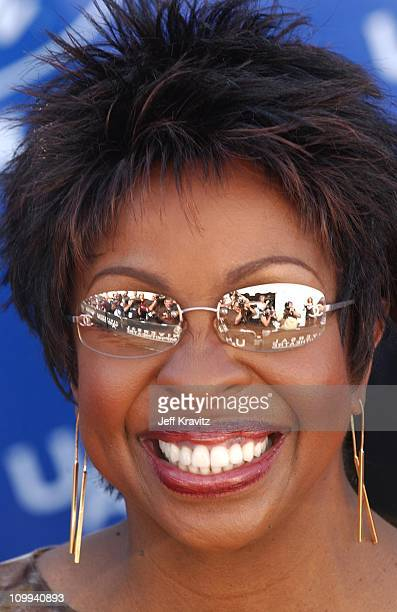 Gladys Knight during American Idol 2 Finals Arrivals at Universal Amphitheatre in Universal City CA United States