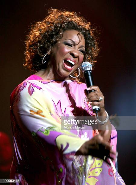 Gladys Knight during Gladys Knight and Angie Stone Perform at the National Urban League Benefit Concert - July 27, 2006 at Atlanta Civic Center in...