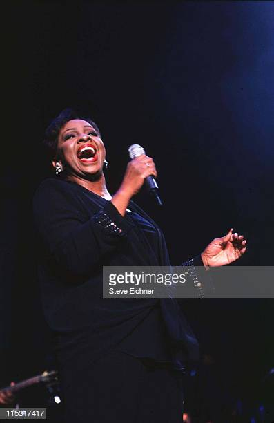 Gladys Knight during Gladys Knight in Concert at MSG 1995 at Madison Square Garden in New York City New York United States