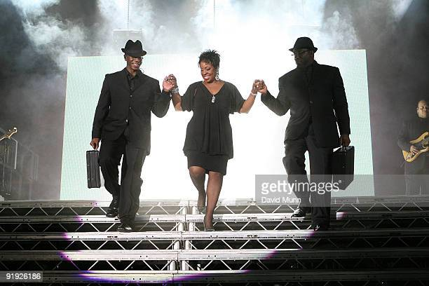 Gladys Knight performs at Echo Arena on October 15 2009 in Liverpool England