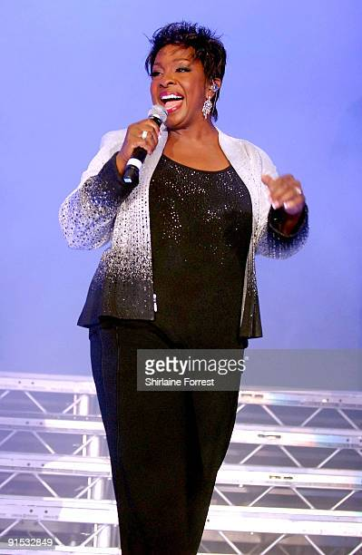 Gladys Knight performs at MEN Arena on October 6 2009 in Manchester England