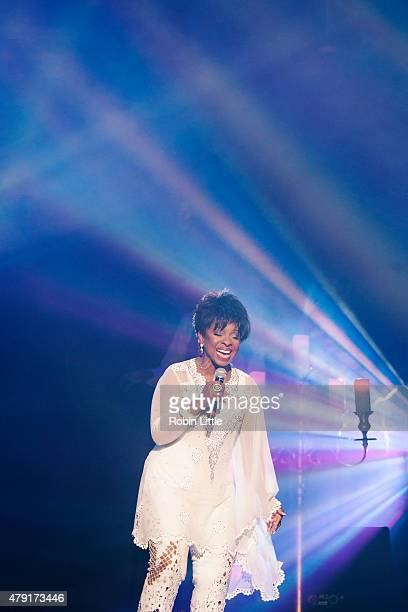 Gladys Knight performs at Royal Albert Hall on July 1 2015 in London United Kingdom