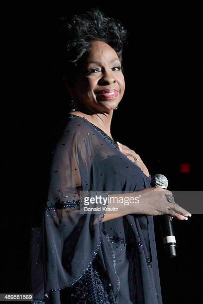 Gladys Knight performs during the 2014 Mother's Day Music Festival at Boardwalk Hall Arena on May 10 2014 in Atlantic City New Jersey