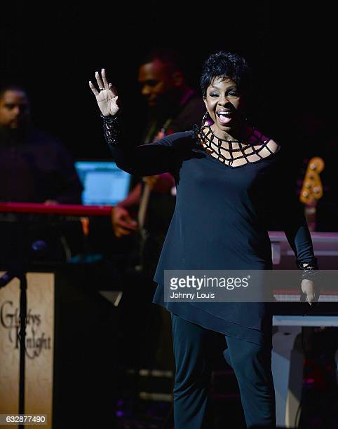 Gladys Knight performs onstage at Broward Center for Performing Arts AuRene Theater on January 27 2017 in Fort Lauderdale Florida