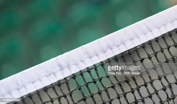 General view of the tennis net