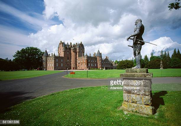 glamis castle - grounds stock pictures, royalty-free photos & images