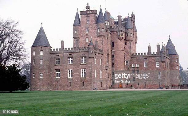 Glamis Castle Scotland Circa 1990s Birthplace Of The Queen Mother