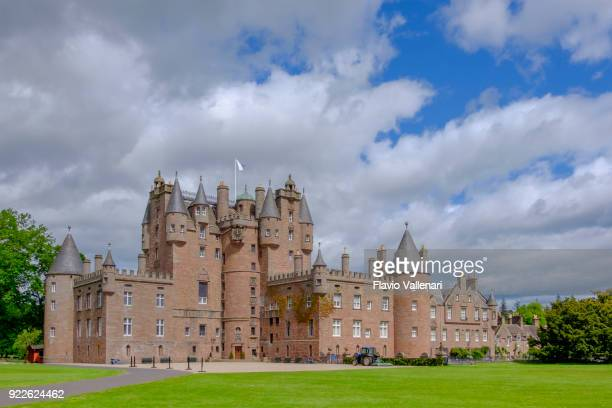 glamis castle, scotland - glamis castle stock photos and pictures