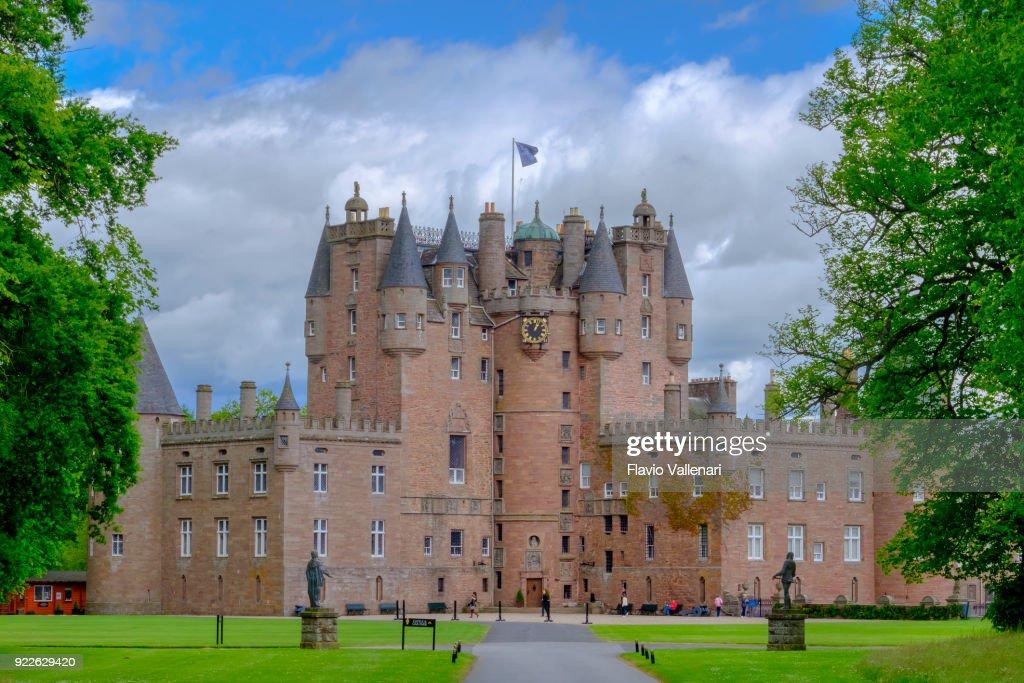 Glamis Castle, Scotland : Stock Photo