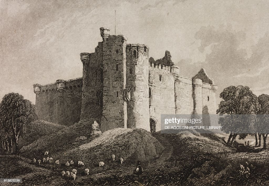 Glamis Castle, Scotland : News Photo