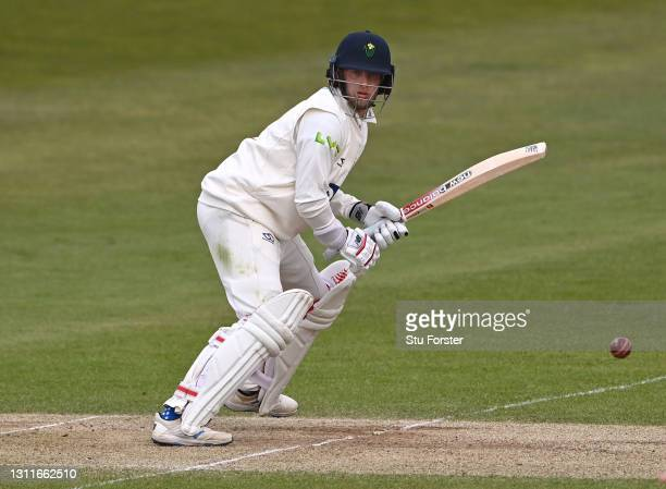 Glamorgan batsman Billy Root in batting action during day two of the LV= Insurance County Championship Group 3 match between Yorkshire and Glamorgan...