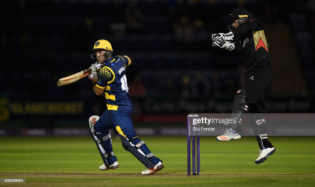 Glamorgan v Leicestershire Foxes - NatWest T20 Blast Quarter-Final