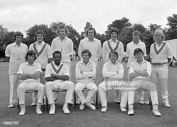 Glamorgan County Cricket Team circa May 1974 Back row Gwyn Richards KTNorkett Barry Lloyd David Williams ALJones Lenard Hill David Francis Front row...