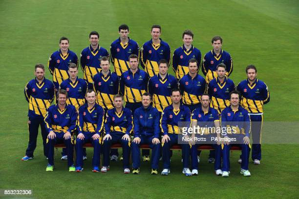 Glamorgan Cricket Club team line up Andrew Salter Ruaidhri Smith Mike Reed Jack Murphy Aneurin Donald Kieran Bull David Lloyd Ben Wright Huw Waters...