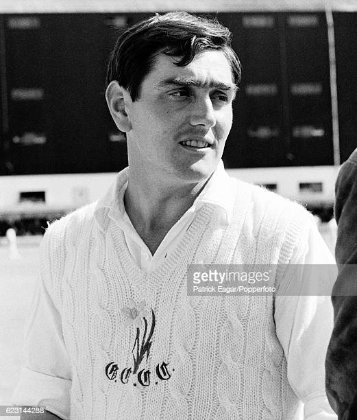 Glamorgan cricketer Tony Lewis during the County Championship match between Glamorgan and Hampshire at Cardiff Arms Park Cardiff 28th May 1966