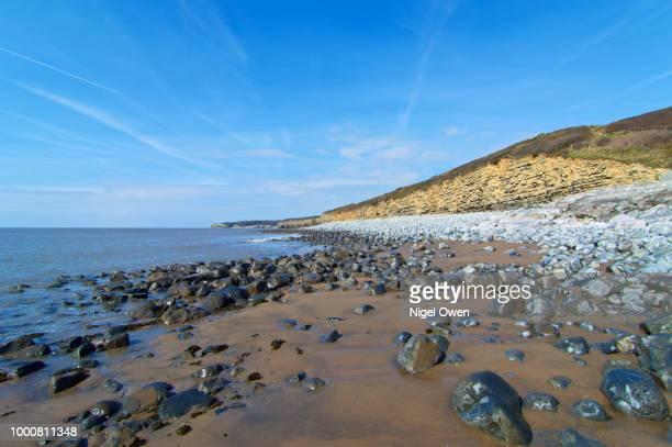 glamorgan heritage coastline - nigel owen stock pictures, royalty-free photos & images