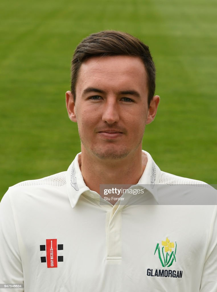 Glamorgan player Jack Murphy pictured during the 2018 Glamorgan CCC photocall at SSE Swalec Stadium on April 17, 2018 in Cardiff, Wales.