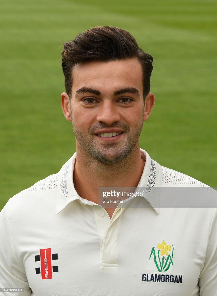 Glamorgan player Jeremy Lawlor pictured during the 2018 Glamorgan CCC photocall at SSE Swalec Stadium on April 17, 2018 in Cardiff, Wales.