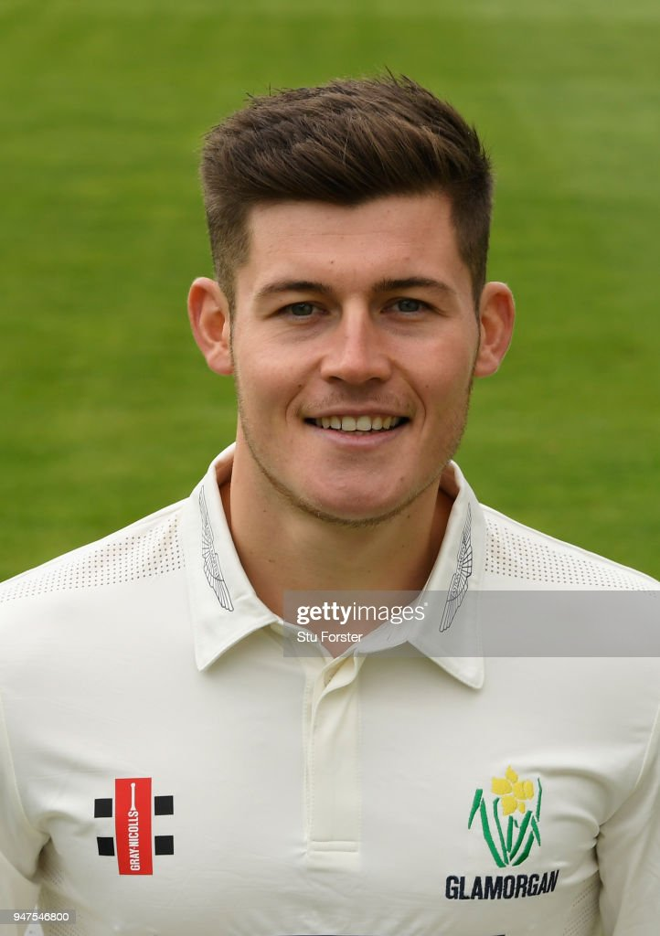 Glamorgan player Owen Morgan pictured during the 2018 Glamorgan CCC photocall at SSE Swalec Stadium on April 17, 2018 in Cardiff, Wales.