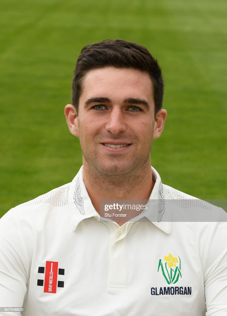 Glamorgan player Ruaidhri Smith pictured during the 2018 Glamorgan CCC photocall at SSE Swalec Stadium on April 17, 2018 in Cardiff, Wales.