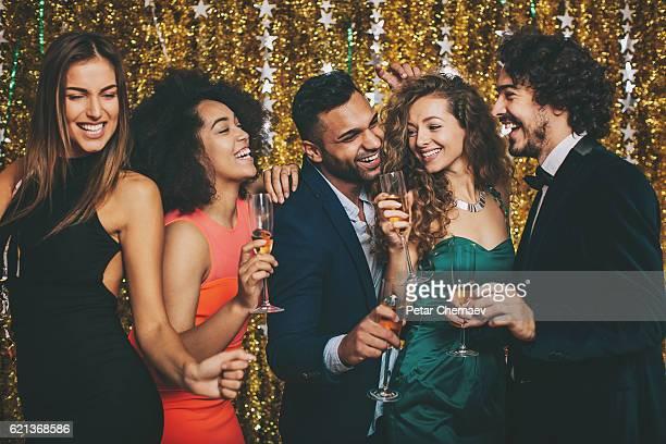 Glamorous celebration