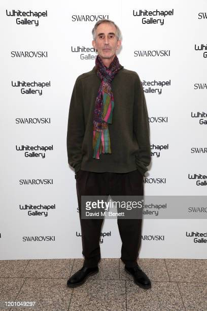 A glamorous gala dinner as Francis Alys is celebrated as Whitechapel Gallery Art Icon with Swarovski on January 21 2020 in London England