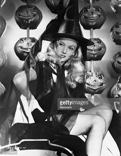 Glamorous Witch Hollywood California Holiday art has always been a boon to the movie makers but for this Halloween they fell heir to a natural This...