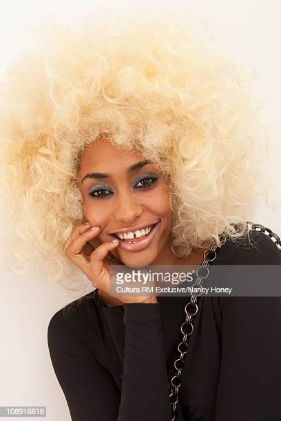 Glamorous woman portrait